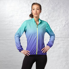 Reebok - Women's Reebok ONE Woven Jacket ultima purple f14-r/timeless teal f14-r Z89388