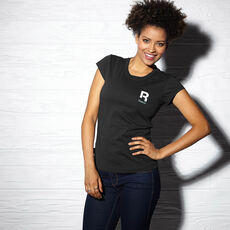 Reebok - Women's Small Logo Tee Black Z93957