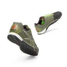 Reebok - Men's Reebok CrossFit® Nano 3.0 Cargo Green/Gravel/White/Excellent Red/Neon Yellow V53242