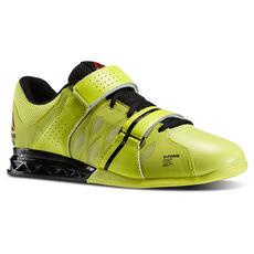 Reebok - Men's Reebok CrossFit Lifter Plus 2.0 High Vis Green/Black M40709