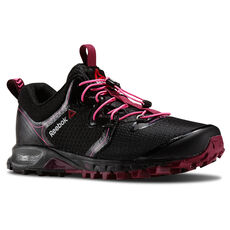 Reebok - Women's Reebok ONE Quest II GTX Black / Rebel Berry / Electro Pink M40954