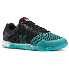 Reebok - Men's Reebok CrossFit Nano 4.0 Black/Timeless Teal/Chalk M41332