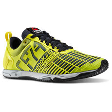 Reebok - Women's Reebok CrossFit Sprint Trainer Stinger Yellow/Reebok Navy/Met Silver M45388