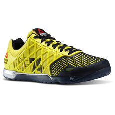 Reebok - Men's Reebok CrossFit 2014 Games Nano 4.0 Stinger Yellow/Reebok Navy/Met Silver M45390