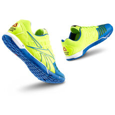 Reebok - Men's Reebok CrossFit® Nano 3.0 Neon Yellow/Trust Blue/White/Black/Excellent Re V52549