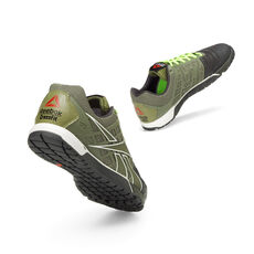 Reebok - Men's Reebok CrossFit® Nano 3.0 Cargo Green/Gravel/White/Excellent Red/Neon Yellow V53242
