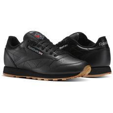 Reebok - Men's Classic Leather Black/Gum 49798