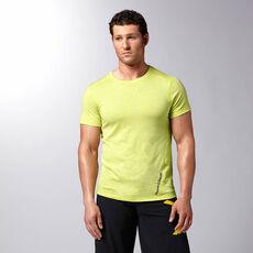 Reebok - Men's Reebok CrossFit Performance Triblend Tee chartreuse f14-r Z89215