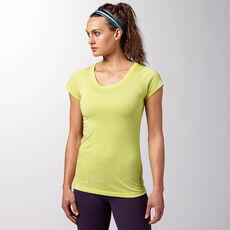 Reebok - Women's Reebok CrossFit Short Sleeve Tee chartreuse f14-r Z91825