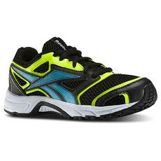 Reebok - Kids Pheehan Run 2.0 TX Black/Solar Yellow/Neon Blue/White M42553