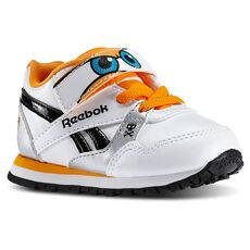 Reebok - Infants Disney Planes Runner AC White/Silver/Black/Hazard Orange/Blue M42608
