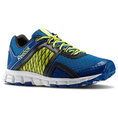 Reebok - Hommes SmoothFlex Flyers RS 2.0 Impact Blue/High Vis Green/Gravel/Silver M41231
