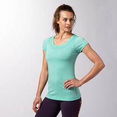 Reebok - Femmes Reebok CrossFit Short Sleeve Tee timeless teal f14-r Z91826