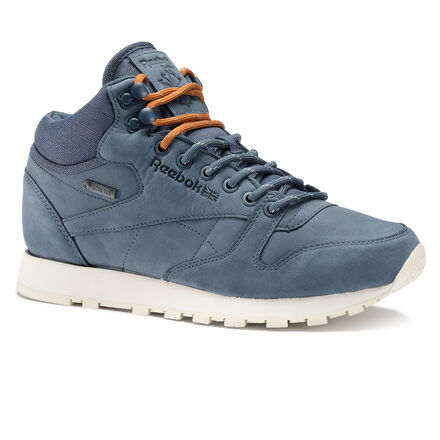 Reebok Кроссовки Classic Leather Mid Goretex