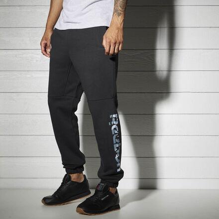 Reebok Флисовые спортивные брюки