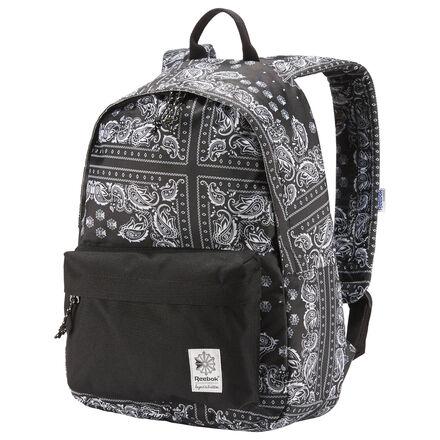 Ты не из тех кто будет жертвовать стилем ради надежности. В этот рюкзак со специальным отделением для ноутбука и карманами на молнии внутри и снаружи поместится все необходимое. А оригинальный платочный принт придаст твоему образу эффектности.