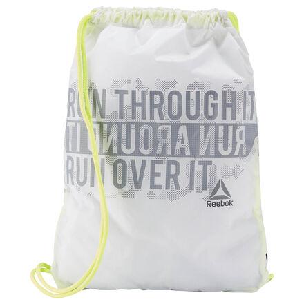 Ты, конечно, можешь оставить эту легкую светоотражающую сумку, в которую поместится все необходимое, на финише. Но почему бы не взять ее на дистанцию?