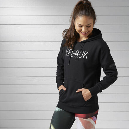 Reebok Худи Workout Ready Cotton Series Graphic Pullover