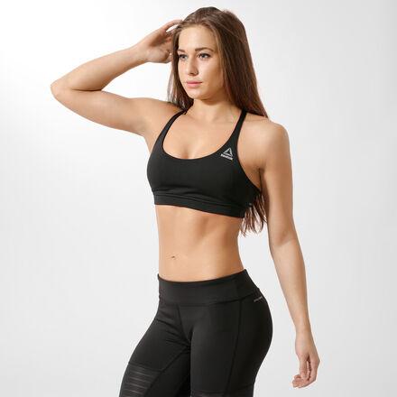 Reebok Спортивный бюстгальтер Workout Ready Tri-Back