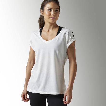 Reebok Спортивная футболка Quik Cotton