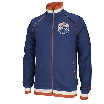 Edmonton Oilers NHL Track Jacket