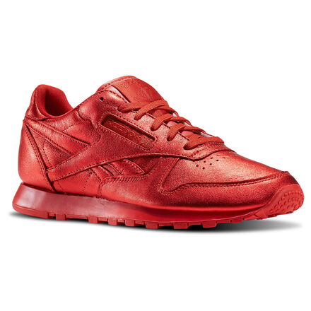 Reebok Womens X FACE Stockholm Classic Leather Fashion in Striking / Wonder Size 5 - Retro Running Shoes