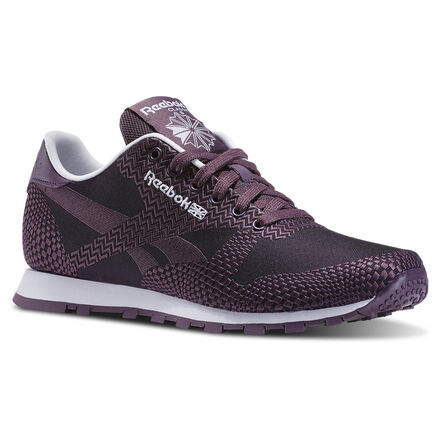 Reebok Womens Classic Runner Summer Brights in Meteorite / Night Violet / White Size 9 - Retro Running Shoes