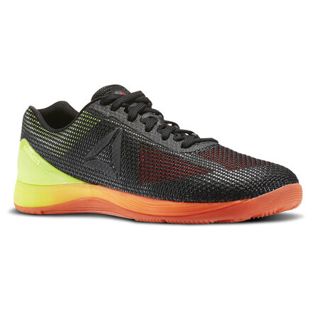 Reebok Mens CrossFit Nano 7 in Vitamin C / Solar Yellow / Black Size 10 - Training Shoes