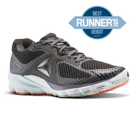 Reebok Womens Harmony Road in Asteroid Dust / Coal / Mist / Vitamin C / Pewter Size 9 - Running Shoes