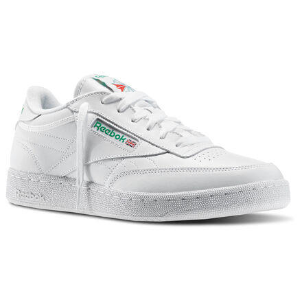 Reebok Club C, Men's, Size: 15, White