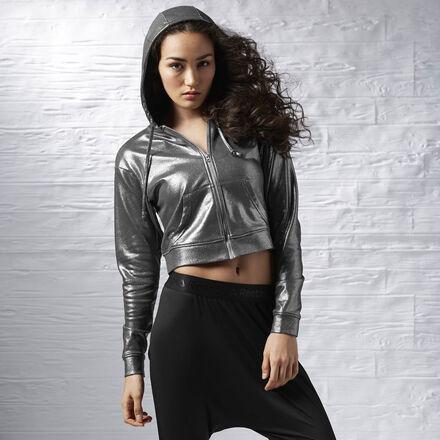 Women's Reebok Metallic Luxe Hoodie