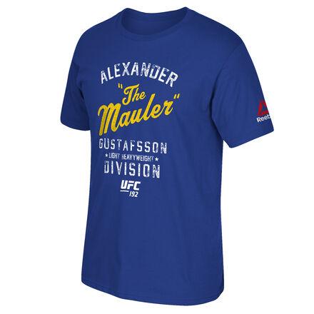 Men's Reebok UFC Fan Gustafsson Throwback