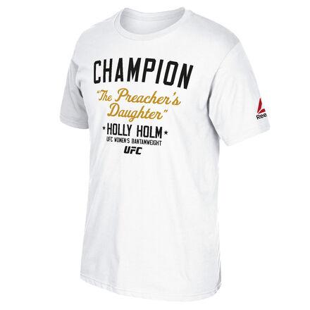 Men's Reebok UFC Fan Holly Holm Champion