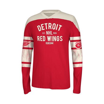 Men's Reebok Hockey (NHL) Detroit Wings Long Sleeve