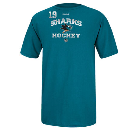 Men's Reebok Hockey (NHL) San Jose Sharks - Thornton