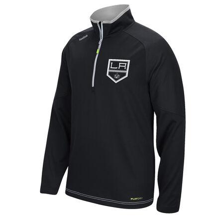 Men's Reebok Hockey (NHL) Los Angeles Kings Center Ice® 1/4 Zip Top