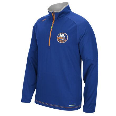 Men's Reebok Hockey (NHL) New York Islanders Center Ice® 1/4 Zip Top