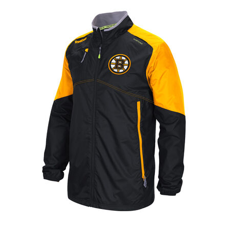 Men's Reebok Hockey (NHL) Boston Bruins Center Ice® Rink Jacket