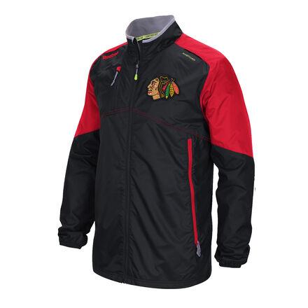 Men's Reebok Hockey (NHL) Chicago Blackhawks Center Ice® Rink Jacket