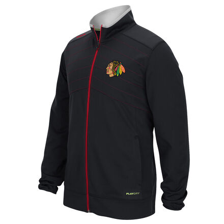 Men's Reebok Hockey (NHL) Chicago Blackhawks Warm Up Jacket