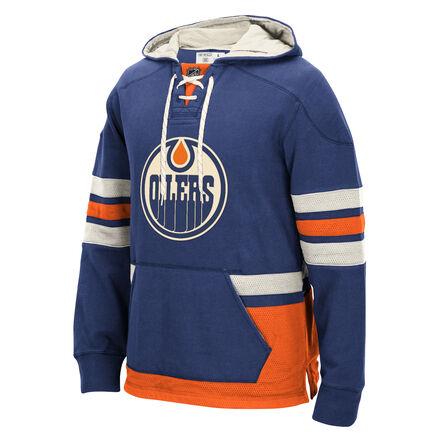 Men's Reebok Hockey (NHL) Edmonton Oilers Pullover Hoodie
