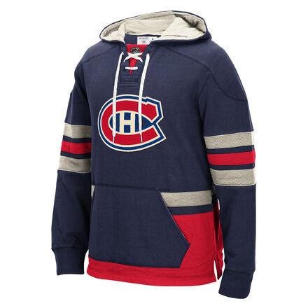 Men's Reebok Hockey (NHL) Montreal Canadiens Pullover Hoodie