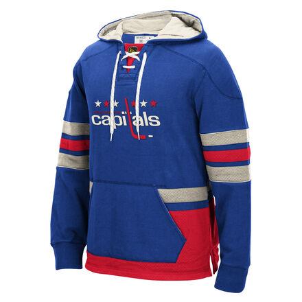 Men's Reebok Hockey (NHL) Washington Capitals Pullover Hoodie