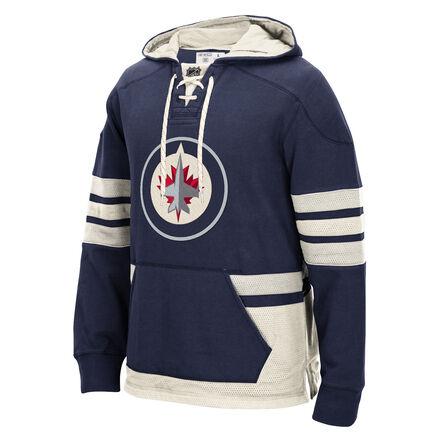 Men's Reebok Hockey (NHL) Winnipeg Jets Pullover Hoodie