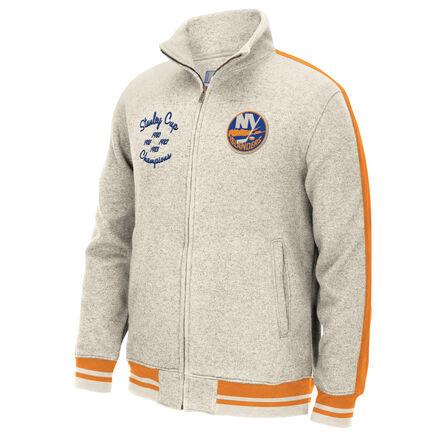 Men's Reebok Hockey (NHL) New York Islanders Full Zip Jacket