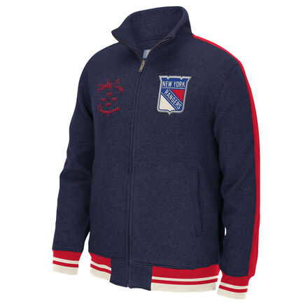 Men's Reebok Hockey (NHL) New York Rangers Full Zip Jacket