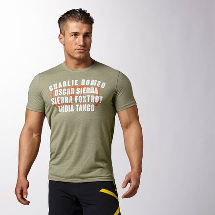 CrossFit Mens Modoli Reebok Charlie Foxtrot Shirt