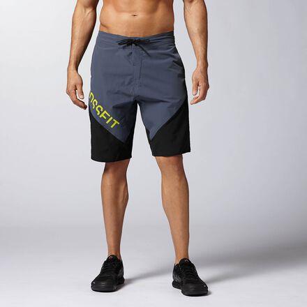 CrossFit Mens Grey Reebok Cordura II Training Short