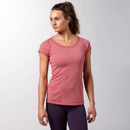 CrossFit Womens Red Reebok Recycled Triblend Shirt