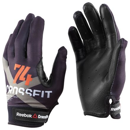 CrossFit Mens Black Reebok Mens Performance Gloves